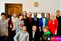 встреча лидеров студенческих движений с ректором КГПУ им. В.П. Астафьева