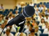 конференция микрофон