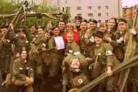 Команда санитарных дружин КГПУ им. В.П. Астафьева