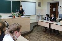 Работа с учениками школ в КГПУ им. В.П. Астафьева
