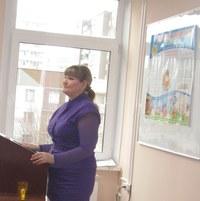 докладчик и автор видеомастерской О. Л. Беляева, к.п.н., доцент КГПУ