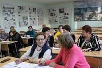 В КГПУ им. В.П. Астафьева состоялось очередное занятие для педагогов
