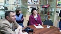 Участники круглого стола в КГПУ им. В.П. Астафьева