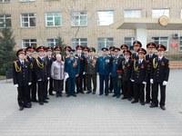 В КГПУ им. В.П. Астафьева прошел торжественный митинг, посвященный 70-летию Победы в Великой Отечественной Войне
