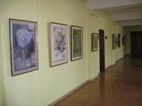 Персональная выставка члена Союза художников России в КГПУ им. В.П. Астафьева