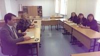 Преподаватели КГПУ им. В.П. Астафьева провели рабочую встречу в школе № 153