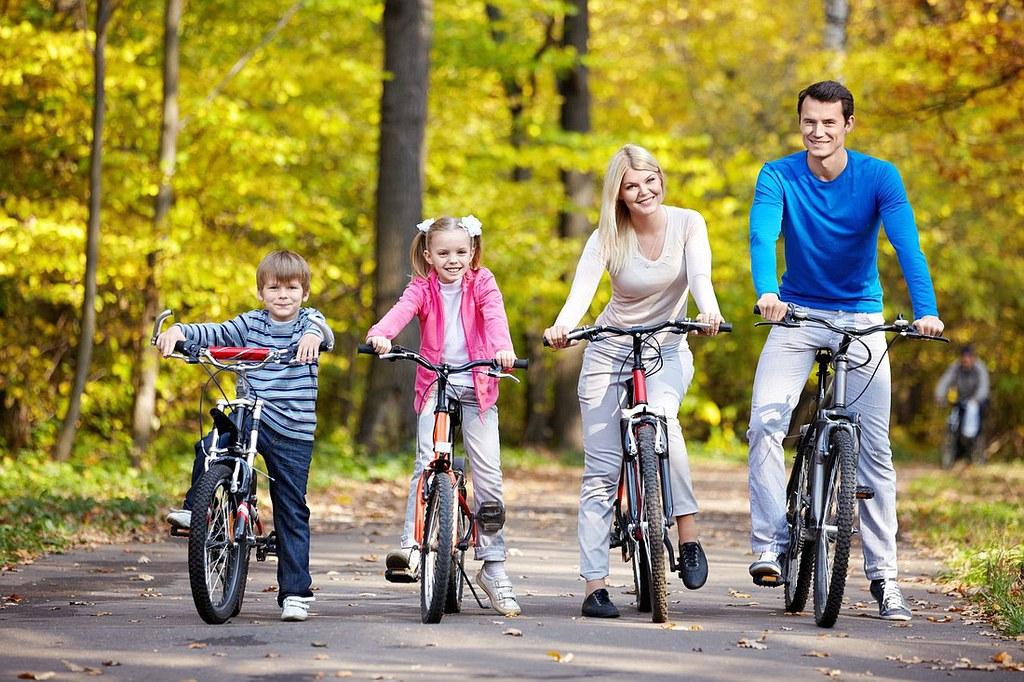 фото семьи занимающиеся спортом