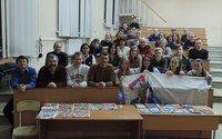 В КГПУ им. В.П. Астафьева, состоялась встреча с выпускником, получившим почетный титул в альпинизме «Снежный барс»