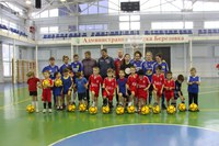 Сборная по мини-футболу «Сибирячка-КГПУ» провела рождественские турниры в Канске и Березовке