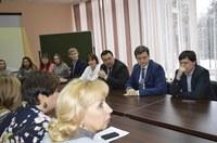 Встреча работников КГПУ им. В.П. Астафьева с главой г. Железногорска Вадимом Медведевым