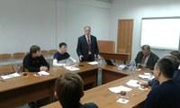 В КГПУ им. В.П. Астафьева прошел круглый стол с участием представителя Высшей школы экономики