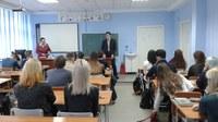 В КГПУ им. В.П. Астафьева исторический факультет провел профориентационную работу в школе №149