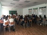 Преподаватели факультета биологии, географии и химии КГПУ им. В.П. Астафьева провели ряд профориентационных встреч