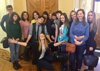 Студенты факультета иностранных языков КГПУ им. В.П. Астафьева посетили музей им. В.И. Сурикова