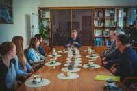 Встреча студентов с ректором КГПУ им. В.П. Астафьева