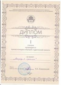 Скан диплома
