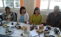 Встреча с представителями администрации Курагинского района 1