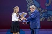 В.А. Толоконский - поздравление студентов КГПУ им. В.П. Астафьева(2)
