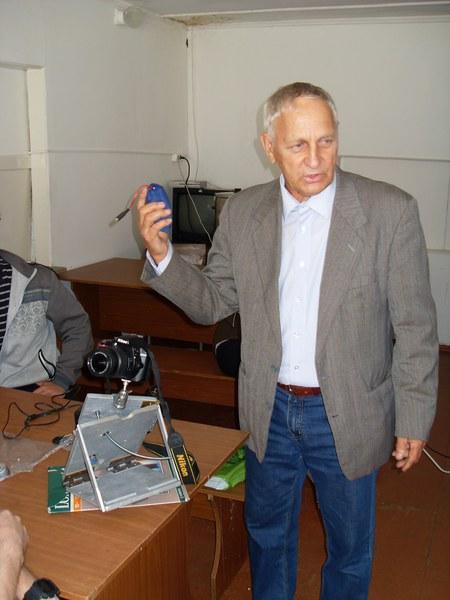 Мастер-класс о началах астрофотографии научного сотрудника КГПУ В.П. Живаева