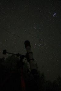 Плеяды (фото С.Е. Гурьянова)