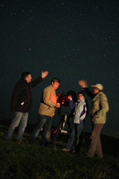 Посмотри, какие звезды! (фото С.Е. Гурьянова)