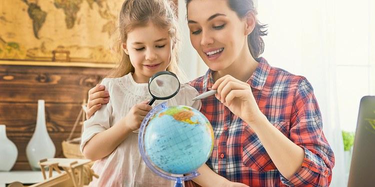 Обучение географии