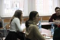 Активные студенты - участники круглого стола