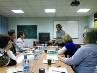 На базе кафедры философии социологии и религиоведения КГПУ им. В.П. Астафьева прошел семинар-практикум