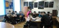 Интегрированные уроки с обучающимися 8 специализированного класса гимназии № 1 г. Сосновоборска