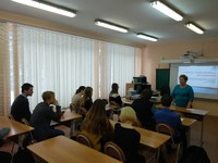 Кафедра менеджмента организации КГПУ им. В.П. Астафьева провела профориентационное мероприятие