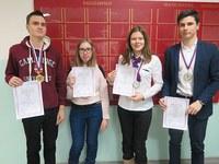 Победители регионального этапа олимпиады школьников по русскому языку- 2018 (9 класс)