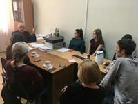 Встреча студенческого актива ИМФИ с проректором по науке и международной деятельности КГПУ им. В.П. Астафьева