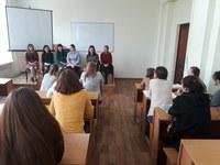В ИМФИ КГПУ им. В.П. Атафьева прошла встреча «Наш выбор – школа» студентов – будущих учителей математики с выпускниками