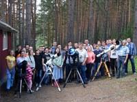 Участники IX Красноярской астрономической школы