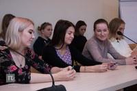 Встреча ректора КГПУ им. В.П. Астафьева с обучающимися филологического факультета