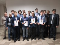 Победители и призеры олимпиады по астрономии с жюри