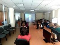 Студенты кафедры политологии и права посетили кинолекторий по истории избирательных комиссий