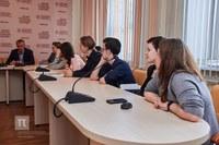 Встреча ректора КГПУ им. В.П. Астафьева со студентами факультета иностранных языков
