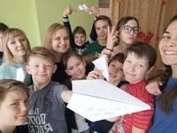 Встреча студентов ИМФИ с воспитанниками Сосновоборского детского дома