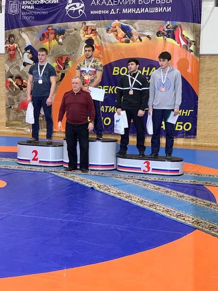 Зайнидинов Дмитрий – победитель Всероссийского турнира по вольной борьбе