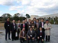 Дроздов Н. И. и Артемьев Е. В., с участниками международного симпозиума в Японии (г. Миадзаки). Декабрь 2009 г.