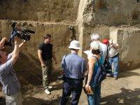 Экскурсия ученых из Японии и США на Афонтову гору. август 2006 г.