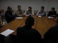 Участники клуба обсуждают проблемы современной прессы
